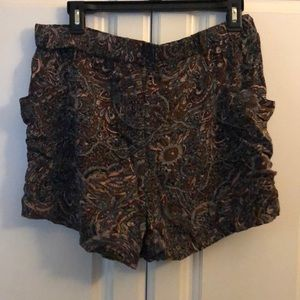 French Connection Shorts - Vintage Paisley Shorts